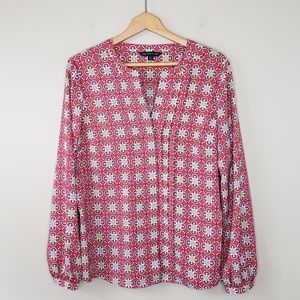 346 Brooks Brothers | Medallion Print Blouse